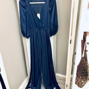 BCBG silk jumpsuit